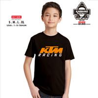 Kaos Baju Anak KTM Racing Kaos Otomotif - Karimake
