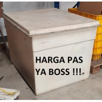Bak Box Container Storage Pendingin Cold Fiberglass Putih