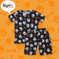 Rugers By Kayamani - Set Kaos anak - Hallowen - 2-3 tahun