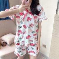 Hotpant Baju Tidur Sabri WaterMelon bahan spandek Import GoodQuality
