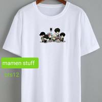 T-shirt wanita / kaos wanita bts combed 30s / kaos printing bts / kaos
