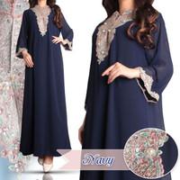 Baju Gamis Kaftan Payet Kaftan Modern Dress Muslim Dress Pesta Wanita
