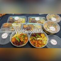 nasi kuning box/Nasi Kuning mika/nasi kuning bowl/ tumpeng ulang tahun