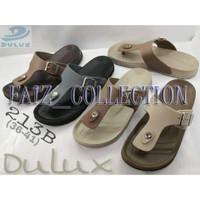 Sandal wanita dulux, bahan karet, model payung, seperti yumeida