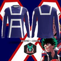 Kaos Baju jersey plus ultra lengan panjang - freenickname