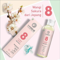 Minyak Telon Habbie Sakura - Flower Series Aromatic Telon Oil