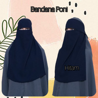 Bandana Poni siffon siky/siffon arab - NAVI
