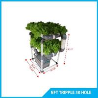 NFT Triple 30 hole hidroponik