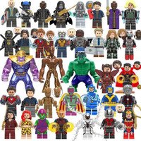 Lego marvel Avengers ironman/Batman/ninjago/chima ecer endgame
