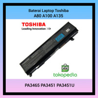 Baterai Laptop Toshiba A80 A100 A135 Series