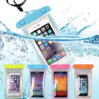 Kamera bawah air universal waterproof case / handphone case - Merah Muda