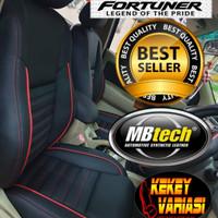 sarung jok MBtech untuk mobil Fortuner Inova Riborn fajero sport