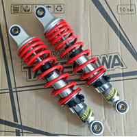 Shock Shockbreaker Takegawa Top Up Honda Supra Kharisma Revo 340mm Red