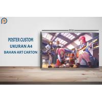 Poster Anime Custom A4