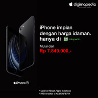 BNIB iPhone SE 2020 64GB/128GB/256GB RESMI (Digimap/iBox) New Segel