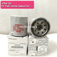 saringan filter oli Nissan Livina/Xtrail/Serena/Datsun go 15208-65F0A