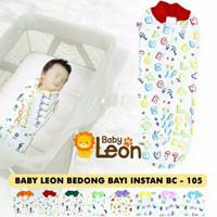 Baby leon Bedong bayi instan - Biru