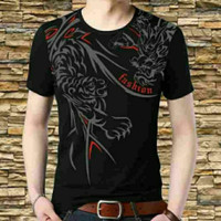 tshirt baju pria kaos atasan laki laki tee t shirt naga batik