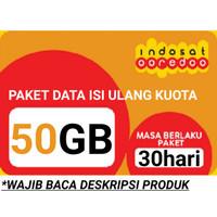 Voucher Internet/Paket Data Indosat 50GB