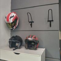 Gantungan Helm/ Hanger Helmet/ Gantungan Payung, Jaket Bahan Besi