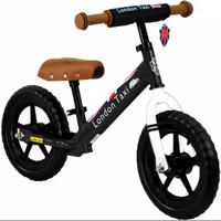 London Taxi Balance Bike/Kick Bike/Push Bike + Bike Stand