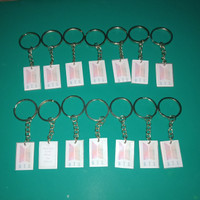 Gantungn kunci bts putih 2.3x3.2cm 1pcs