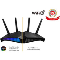 ASUS RT-AX82U - AX5400 Dual Band WiFi 6 Gaming Router WiFi ASUS AURA