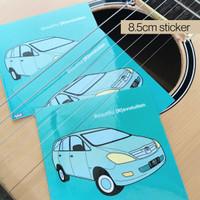WAM's Artbox Edition 3 Sticker - Toyota Kijang Innova 2004