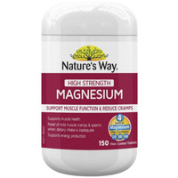 nature's way high strength magnesium -150 tablet
