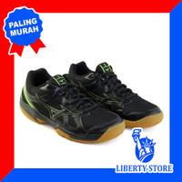 Sepatu Volly Mizuno CYCLONE SPEED - Black L.Green