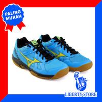Sepatu Volly Mizuno CYCLONE SPEED - Blue Yellow Black