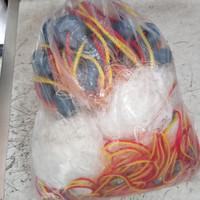 Jaring udang jaring ikan 3 lapis bahan nilon
