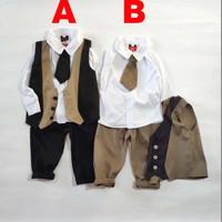 Baju Anak Bayi Laki Laki Setelan Jas Tuxedo Anak Bayi Harvey