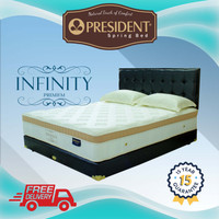 PRESIDENT Springbed - INFINITY Premium PlushTop(Hanya Kasur)