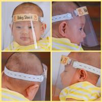 face shield bayi / baby faceshield / APD Baby