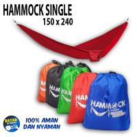 Hammock single ayunan gantung not rei not eiger not consina - Hitam