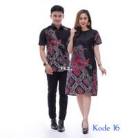 Batik Couple Baju Pesta Sarimbit Batik /seragam kantor/original Produk