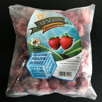 [500gr] - Frozen Strawberries | Stroberi Beku | Buah Beku