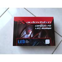 LED Autovision Carbon P2 Single (H1, H11 & HB3) 50 Watt 4300 - 5700K
