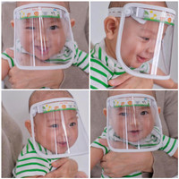 faceshield baby / face shield bayi / faceshield list baby / APD Baby
