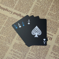 Kartu Remi Plastik Anti Air Waterproof Poker Card Holdem Board Game