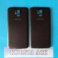 BACKDOOR SAMSUNG S5 G900 HITAM / BACK COVER CASING BATERAI