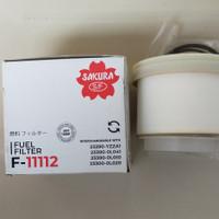 Filter Solar Innova Fortuner Hilux GEN2 merk Sakura 23390-YZZA1/0L041