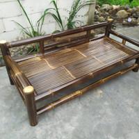 kursi bale bambu hitam