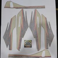 stiker striping stripping honda GL max original CKD