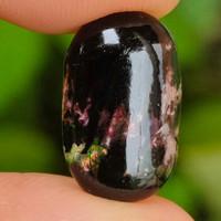 Black Opal Banten / Kalimaya Jarong ( batu akik Natural -bukan bacan )