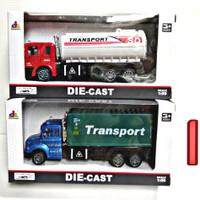 Mainan diecast truck/ truk besi
