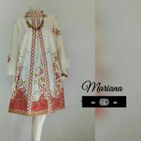 Tunik Batik/Dress batik/Baju Batik Wanita/Baju Kantor TN - 699