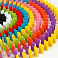 Balok Domino 120 PCS Wooden Puzzle Edukasi Mainan Anak Play Asah otak