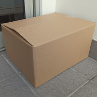 kardus box packing polos double wall 52x51,5x40cm, murah, kotak karton